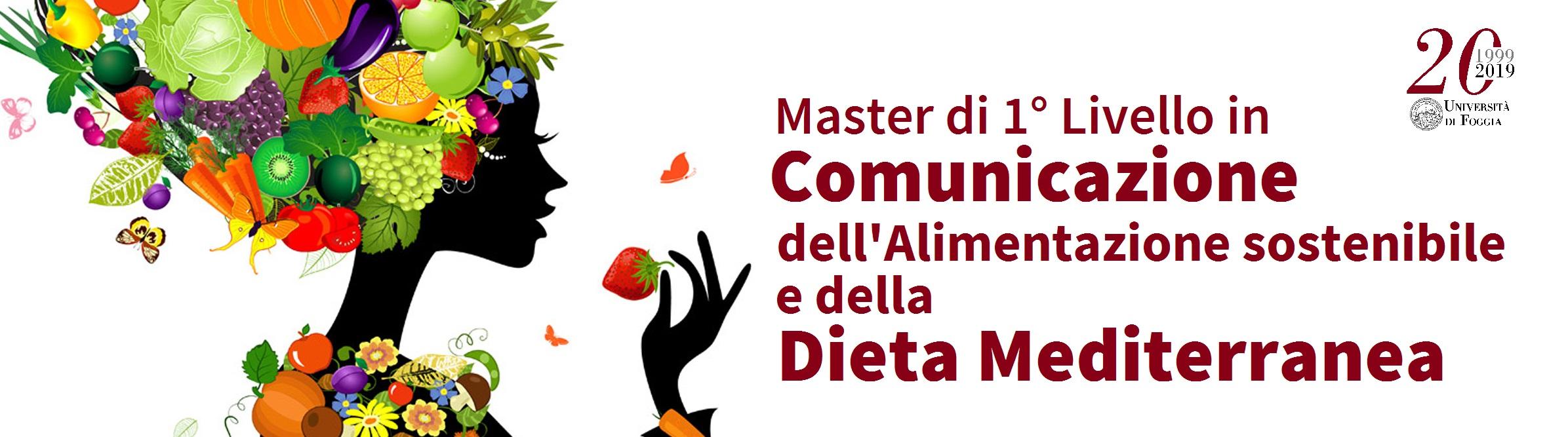 Master in Comunicazione dell'Alimentazione sostenibile e della Dieta Mediterranea_Banner